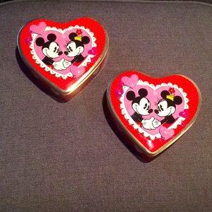 Disney's Mickey and Minnie Valentine's Vintage Tin